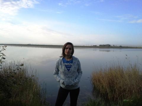 Dimineata pe lacul Amara a compensat faptul ca la mare am ajuns pe intuneric